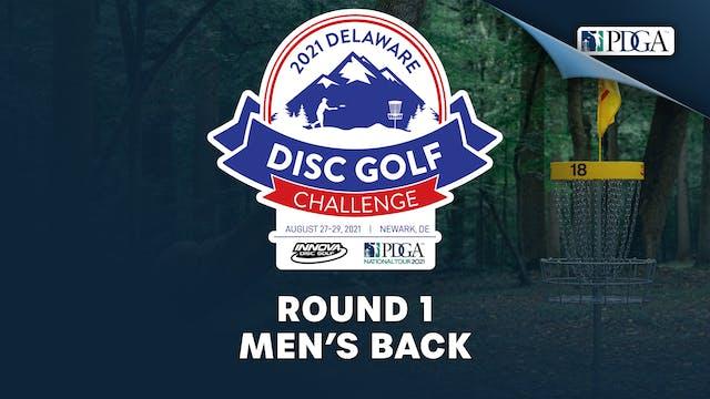 Round 1, Men's Back | Delaware Disc G...