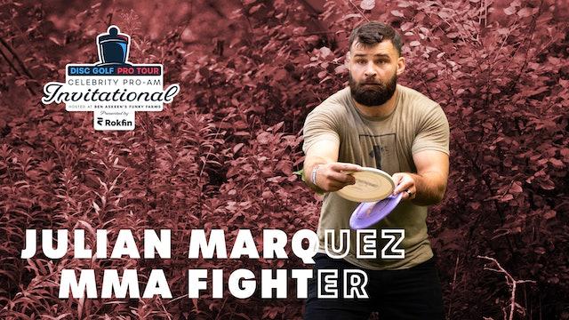DGPT Celebrity Pro-Am   Julian Marquez Interview