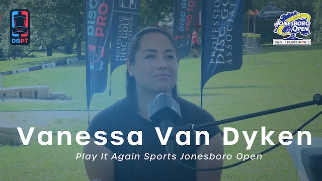 Vanessa Van Dyken Press Conference Interview