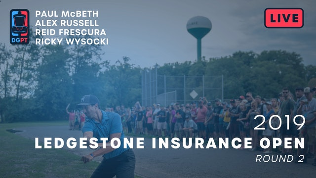 2019 Ledgestone Insurance Open Live Replay - MPO Round 2