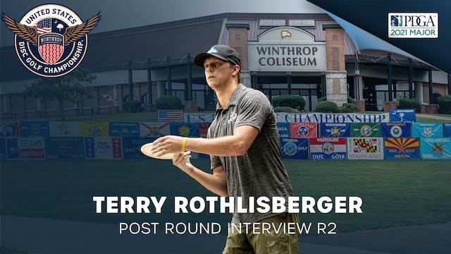USDGC Round 2 - Post Round Interview - Terry Rothlistberger