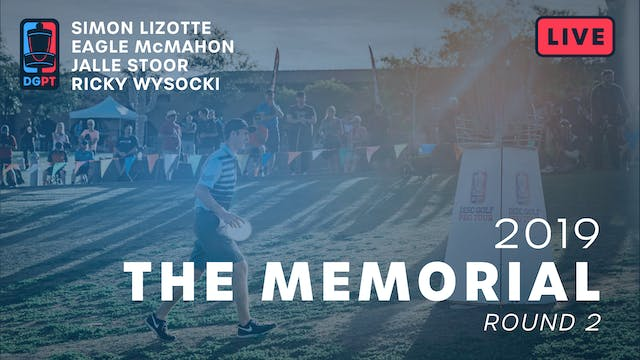 2019 Memorial Live Replay | MPO Round 2