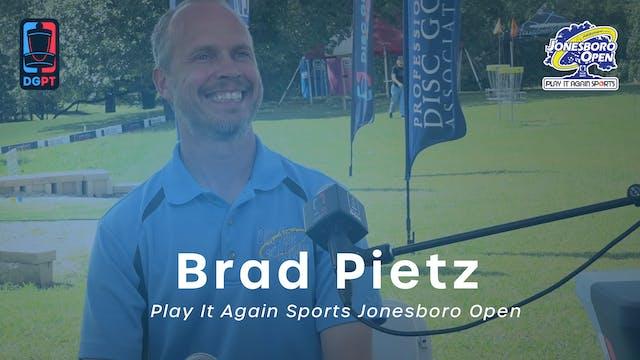 Brad Pietz Press Conference Interview