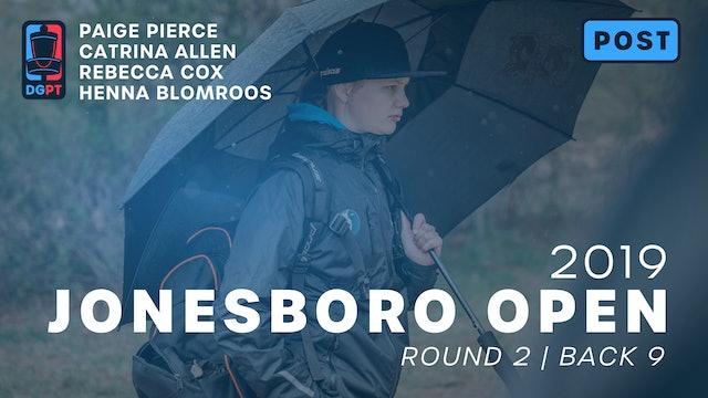 Jonesboro Open Post Produced - FPO Round 2 | Back 9