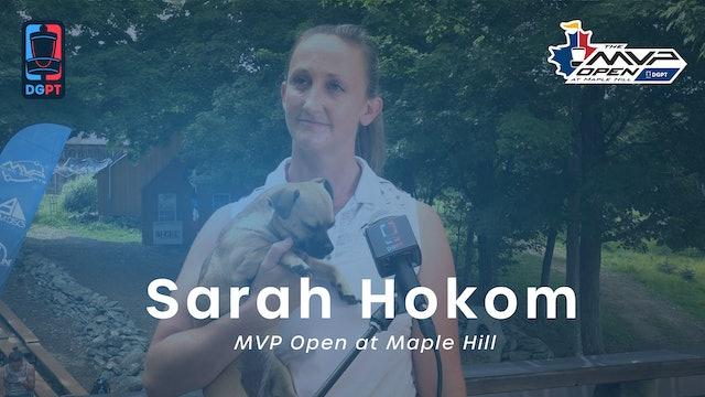 Sarah Hokom Press Conference Interview