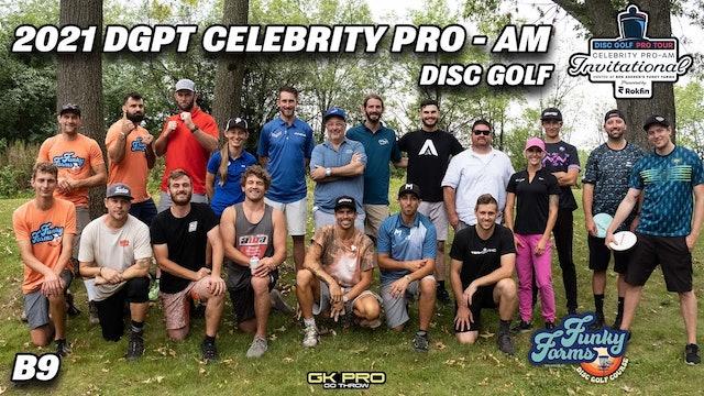 DGPT Celebrity Pro-Am   Round Two Back 9   GK Pro Coverage