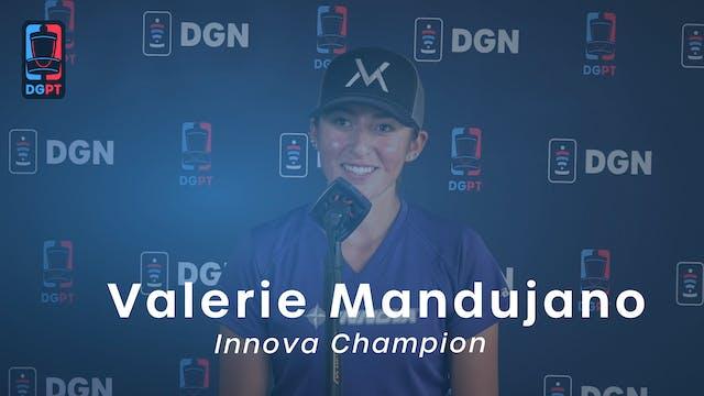 Valerie Mandujano Press Conference