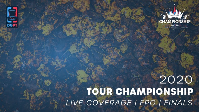2020 Tour Championship Presented by Grip6 Live | FPO | Finals