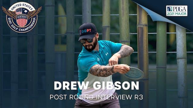 USDGC Round 3 - Post Round Interview - Drew Gibson