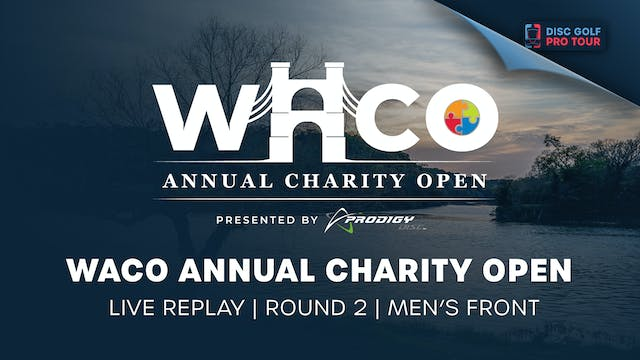WACO Live Replay | Round 2 | Men's Front