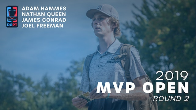 2019 MVP Open Live Replay - MPO Round 2