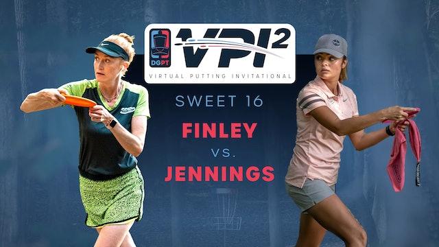Holly Finley vs Christine Jennings | VPI2 | SWEET 16