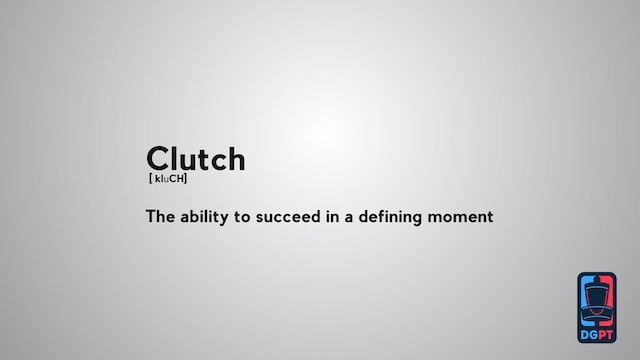 Define the Sport - Clutch