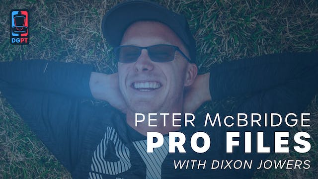 Peter McBride - Pro Files with Dixon ...