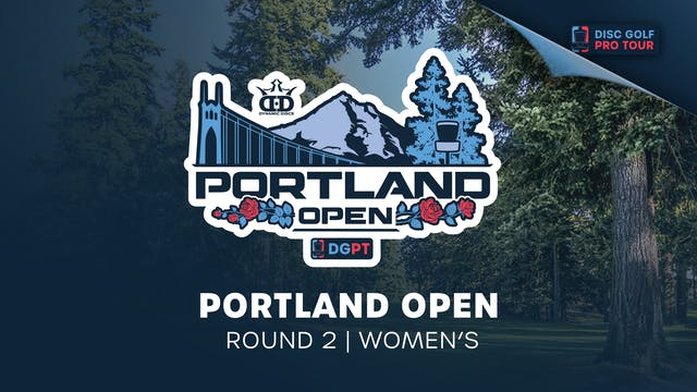 Portland Open | Round 2 | Women's