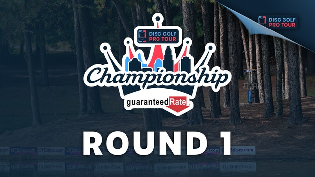 Round 1, MPO   Tour Championship Presented by Guaranteed Rate