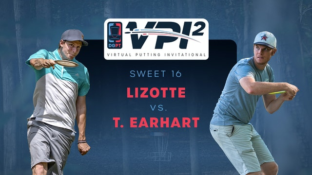 Simon Lizotte vs Thomas Earhart | VPI2 | SWEET 16