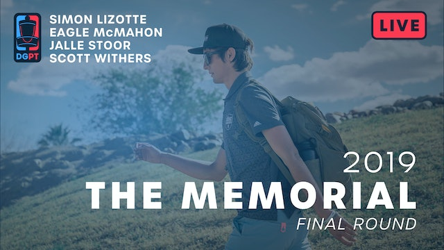 2019 Memorial Live Replay - MPO Final Round