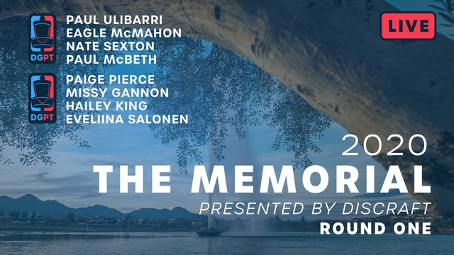 2020 Memorial Live | Round One