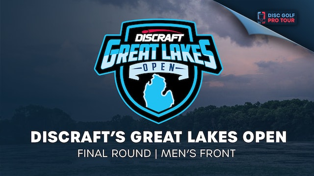Discraft's Great Lakes Open   Round 1   Men's Front