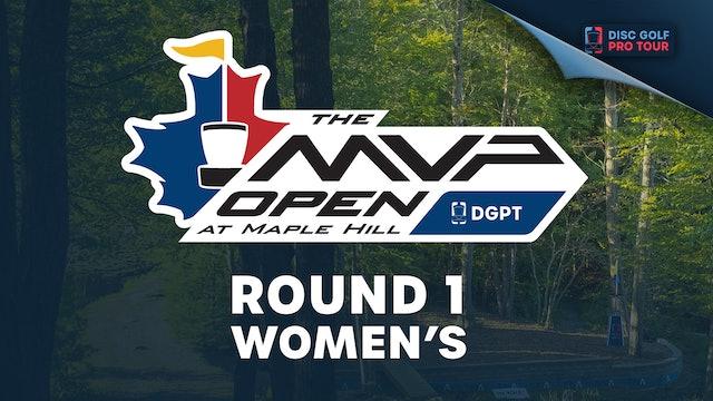 Round 1, Women's | MVP Open