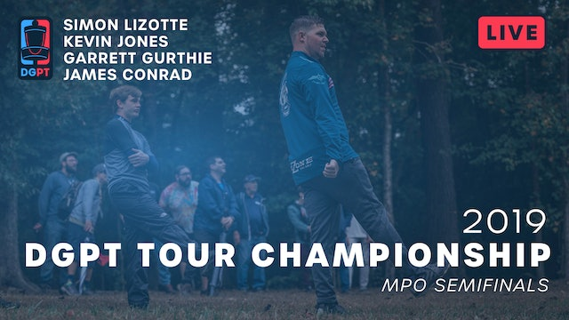 2019 DGPT Tour Championship Live Replay - MPO Semifinals