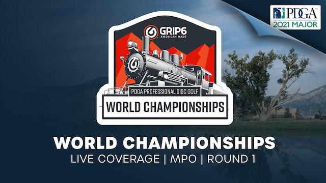 PDGA World Championships | Round 1 | Men
