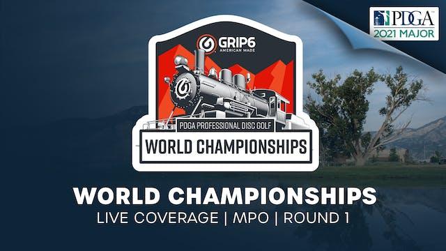 PDGA World Championships   Round 1   Men