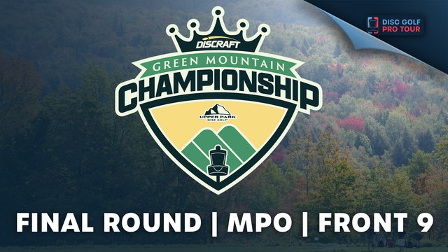 Final Round, Men's Front | Green Mountain Championship