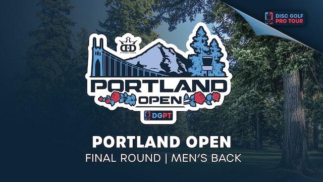Portland Open | Final Round | Men's Back
