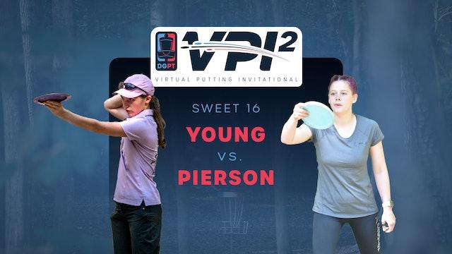 Heather Young vs Alyssa Pierson | VPI2 | SWEET 16