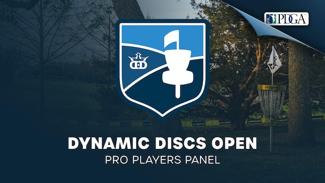 Dynamic Disc Open | Pro Players Panel