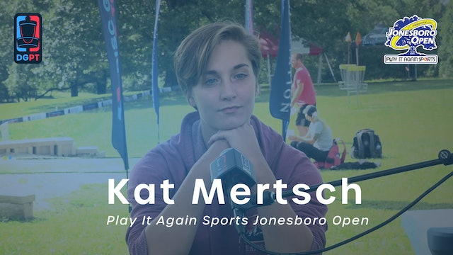 Kat Mertsch Press Conference Interview