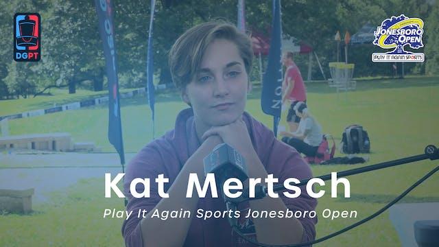 Kat Mertsch Press Conference Interview