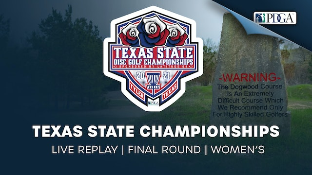 Texas State Championships | Final Round | Women's
