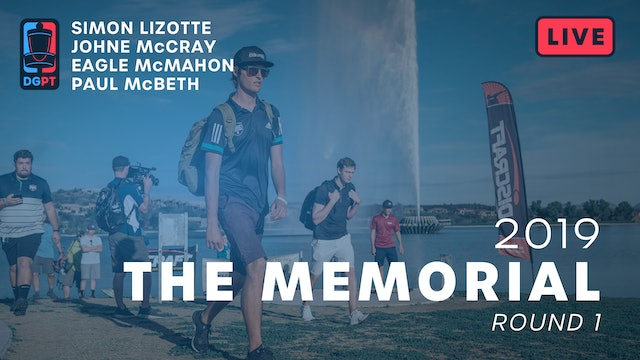 2019 Memorial Live Replay - MPO Round 1