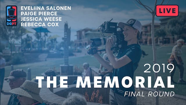 2019 Memorial Live Replay - FPO Final...