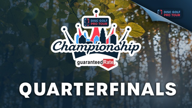 Quarterfinals, FPO   Tour Championship Presented by Guaranteed Rate