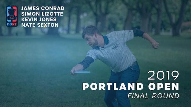 2019 Portland Open Live Replay - MPO Final Round