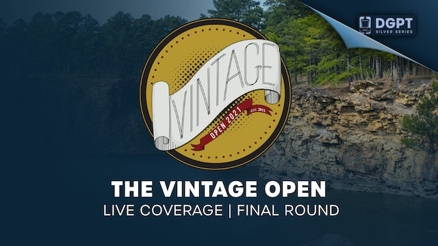 The Vintage Open | Live Coverage | Final Round