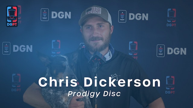 Chris Dickerson Press Conference Interview