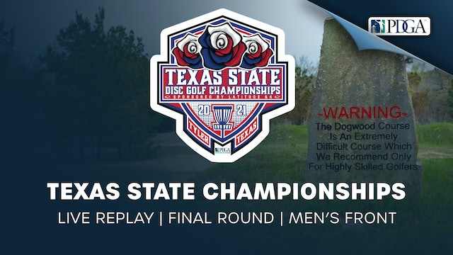 Texas State Championships | Final Round | Men's Front