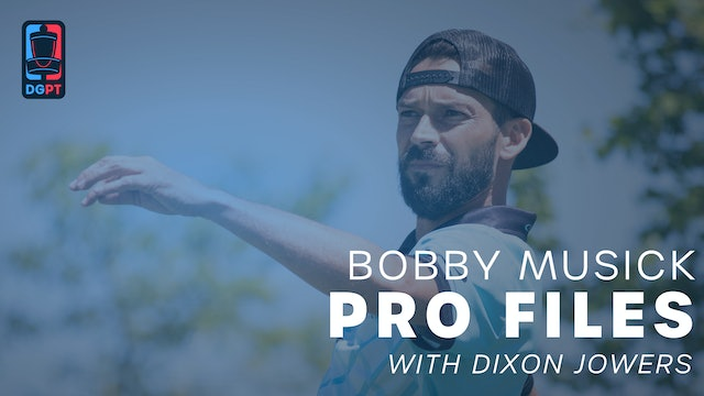 Bobby Musick - Pro Files with Dixon Jowers