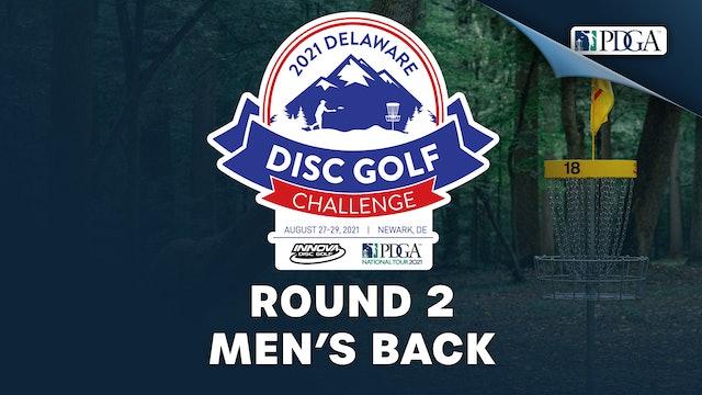 Round 2, Men's Back | Delaware Disc Golf Challenge