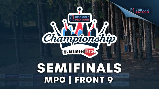 Semifinals, MPO, Front 9   Tour Championship