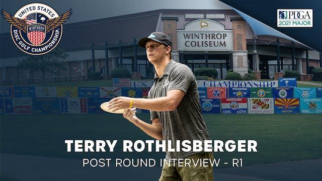 USDGC Round 1 - Post Round Interview - Terry Rothlisberger