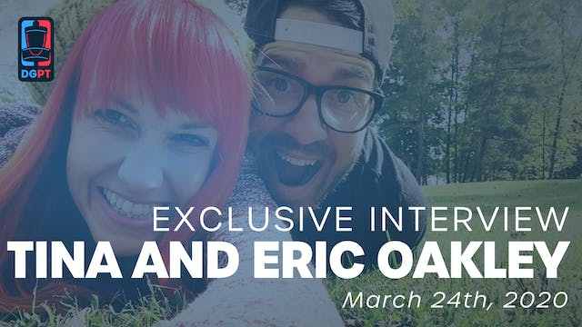 Tina and Eric Oakley Exclusive Interview