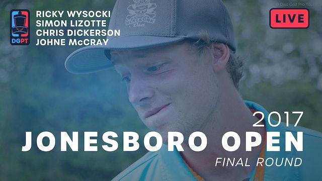 2017 Jonesboro Open Live Replay - MPO Final Round