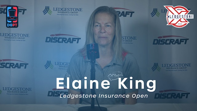 Elaine King Press Conference Interview