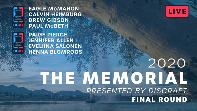 2020 Memorial Live - Final Round